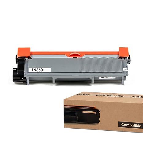 TN-660 Black Toner Cartridge for Brother TN660 TN630 DCP-L2520DW Laser Printer