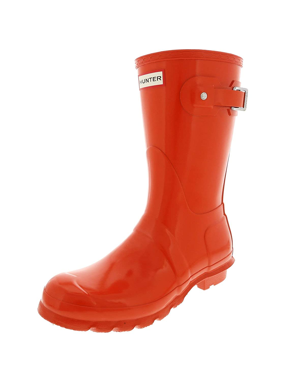 Gloss orange Hunter Original Short Boot Snow Boot