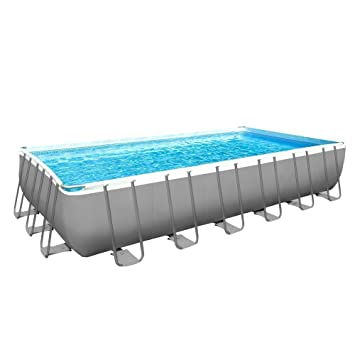 Intex 12 54978 Ultra Quadra II marco piscina Set 732 x 366 x 132 cm: Amazon.es: Jardín