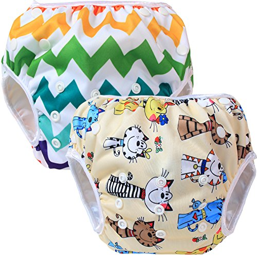 Teamoy Diaper Newborn Colorful Chevron