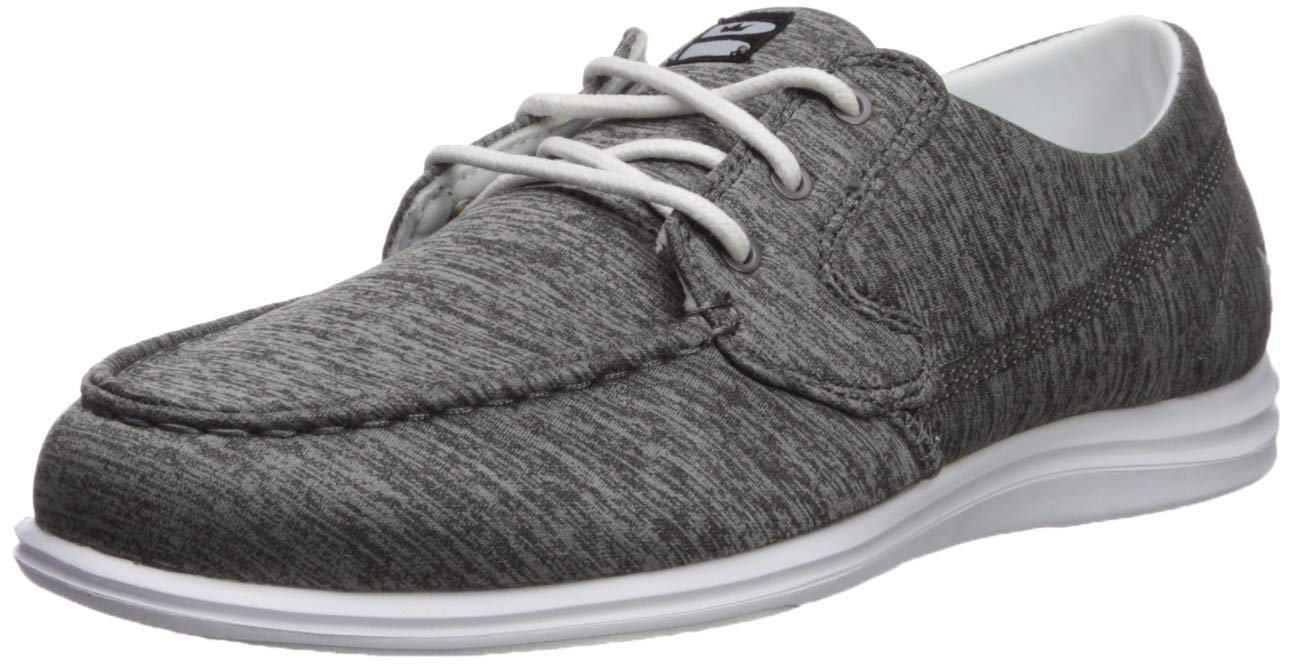 Brunswick Ladies Karma Bowling Shoes- Grey/White, 7.5 by Brunswick