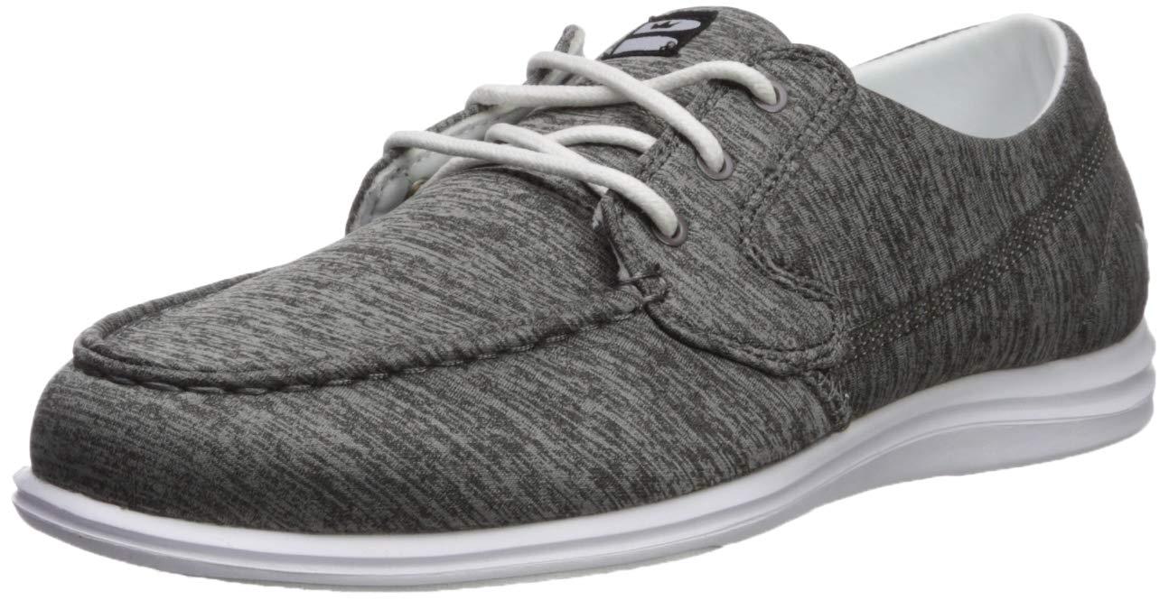 Brunswick Ladies Karma Bowling Shoes- Grey/White, 6