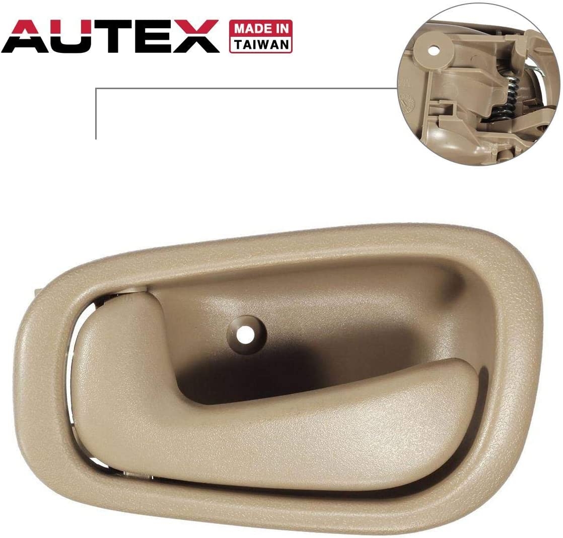 For 1998-2002 COROLLA Inside Inner TAN Front//Rear DRIVER Door Handle