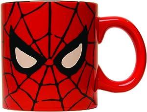 Silver Buffalo MC7034 Marvel Comics Spider-Man Eyes Jumbo Coffee Mug, 20-Ounces