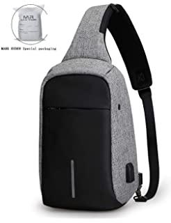 Anti Theft Sling Bag Shoulder Chest Cross Body Backpack Lightweight Casual  Daypack d197354df0854