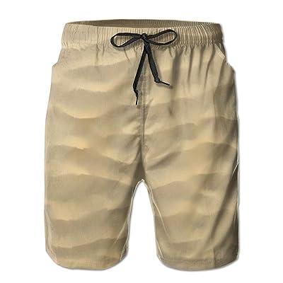 Sandy Beach Men's Quick Dry Swim Trunks Beach Board Shorts
