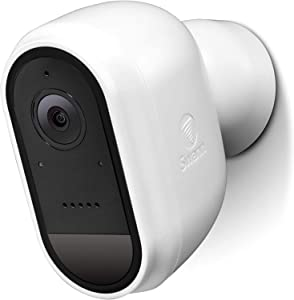 Swann Indoor/Outdoor Wireless 1080p WiFi Security Camera, 100% Wire-Free Home Surveillance, Heat & Motion-Sensing, Night Vision, Smart Mobile Alerts with Face Recognition, White, SWIFI-CAMW