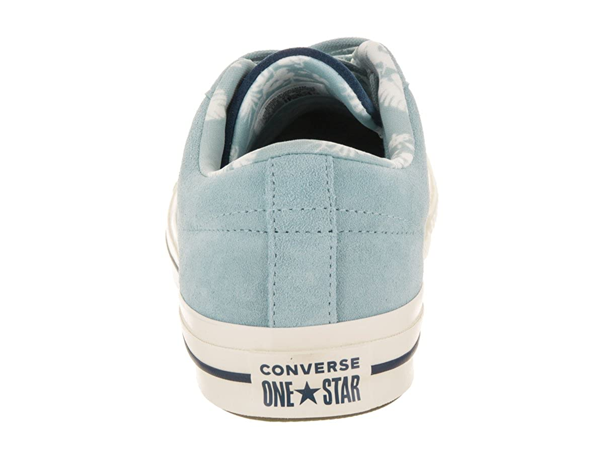 70ccb08a991532 Converse Men s One Star Ox Sneakers Ocean Bliss Navy Egret 7.5 D(M) US    9.5 B(M) US  Buy Online at Low Prices in India - Amazon.in
