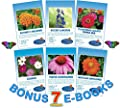 Monarch Rescue Collection Wildflower Seeds Bulk + 8 BONUS Gardening eBooks + Open-Pollinated Wildflower Seed Packets, Non-GMO, No Fillers, Annual, Perennial Wildflower Seeds Year, Monarch Butterfly
