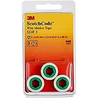 3M Scotch Código SDR Cable de 3marcadores rollos