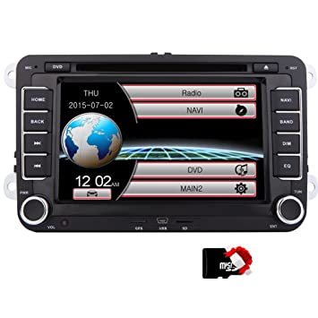 EinCar DVD Player CD GPS Navigation Bluetooth Touch Screen Radio 2 ...