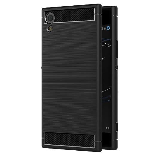 3 opinioni per Cover Sony Xperia XA1 Ultra, AICEK Nero Custodia Sony XA1 Ultra Silicone Molle