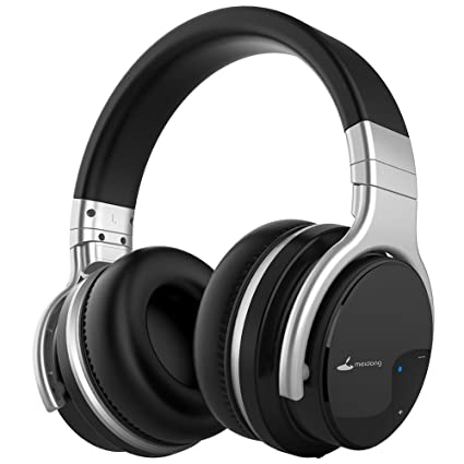 4a9c93cfceb Meidong E7B 2019 Unstoppable Arrival Active Noise Cancelling Bluetooth  Headphones, Wireless Headset with Microphone Over