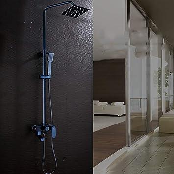 KaO0YaN-Shower Set De Ducha Termostático Espacio De Baño Aluminio ...