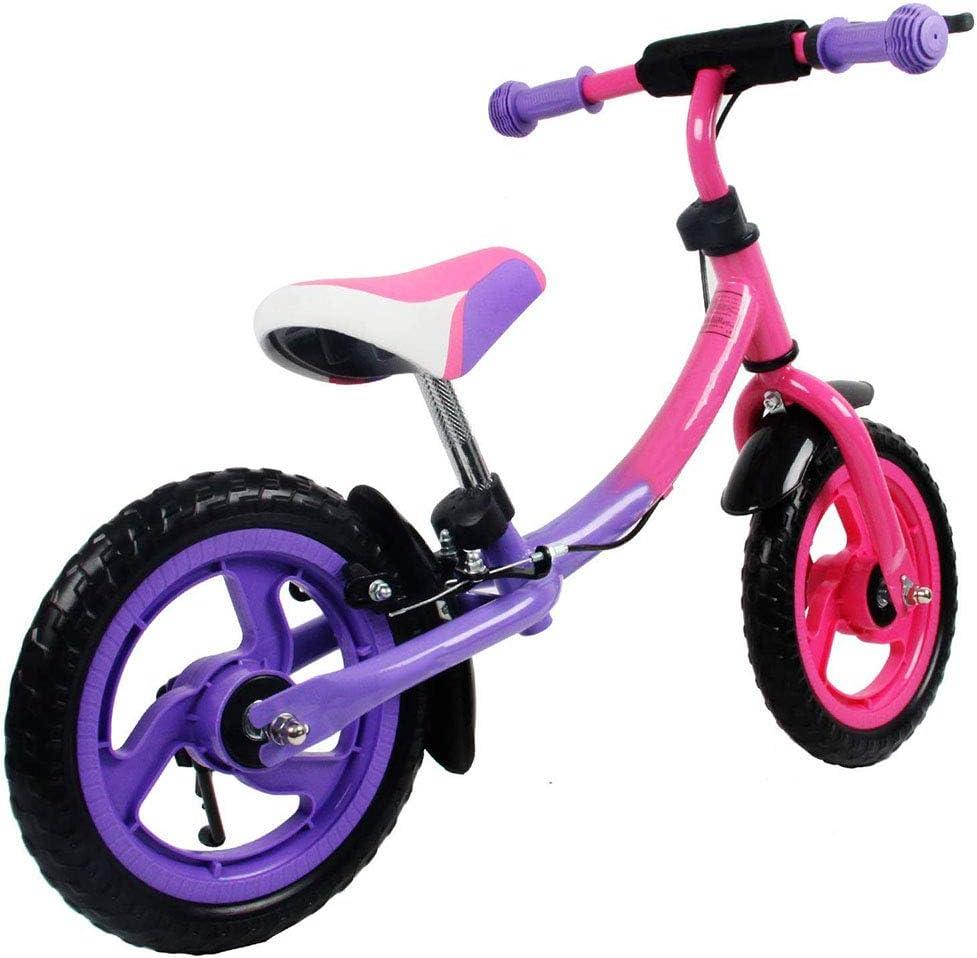 RXRENXIA Bicicleta De Los Niños Equilibrio, 3-7 Years Antiguo Bebés Y Niños Pequeños Walker Vespa, Ligero Sin Pedal De Bicicleta De Entrenamiento, Bicicleta De Equilibrio Ajustable