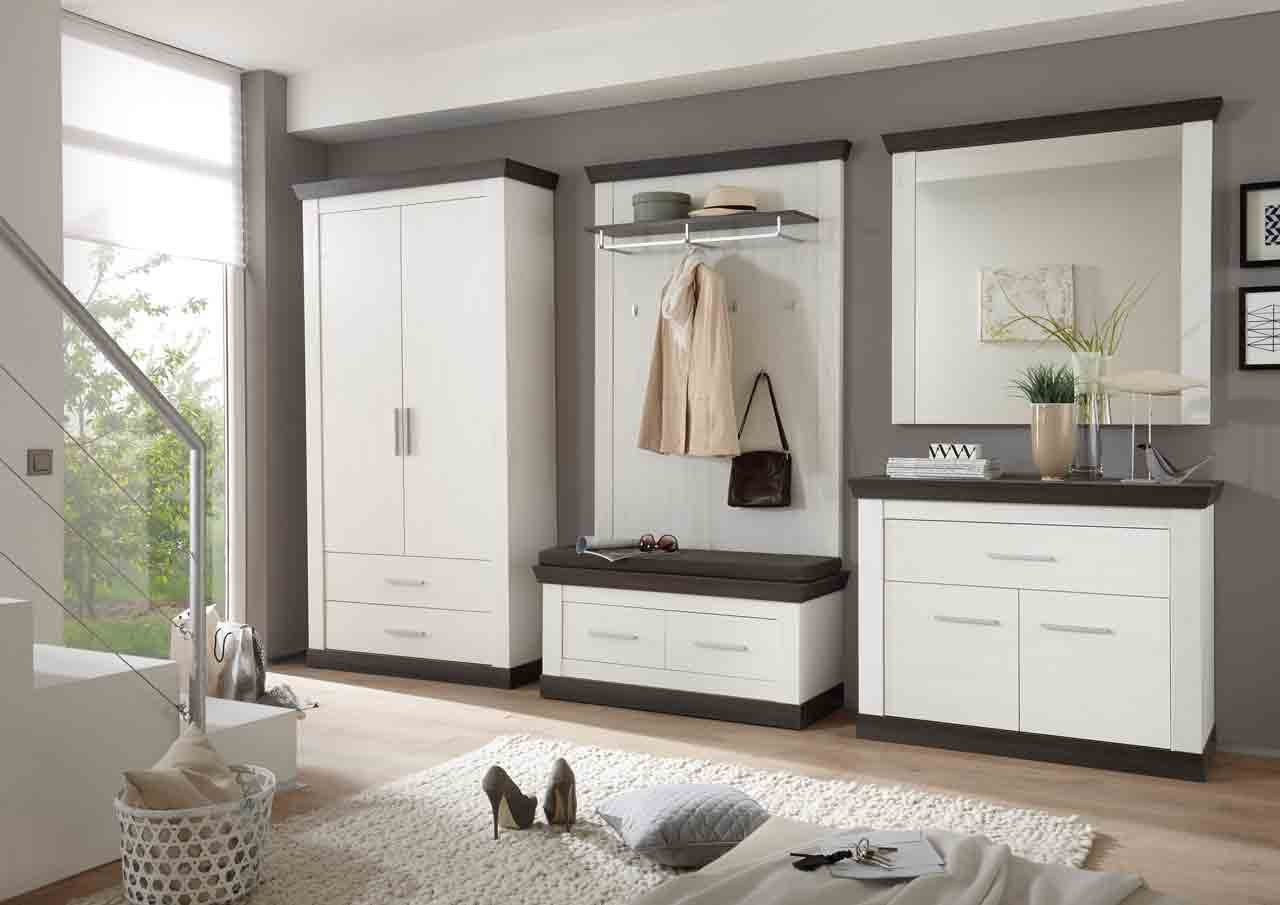 garderoben set garderobe flur garderobe diele schuhschrank garderobenschrank paneel. Black Bedroom Furniture Sets. Home Design Ideas