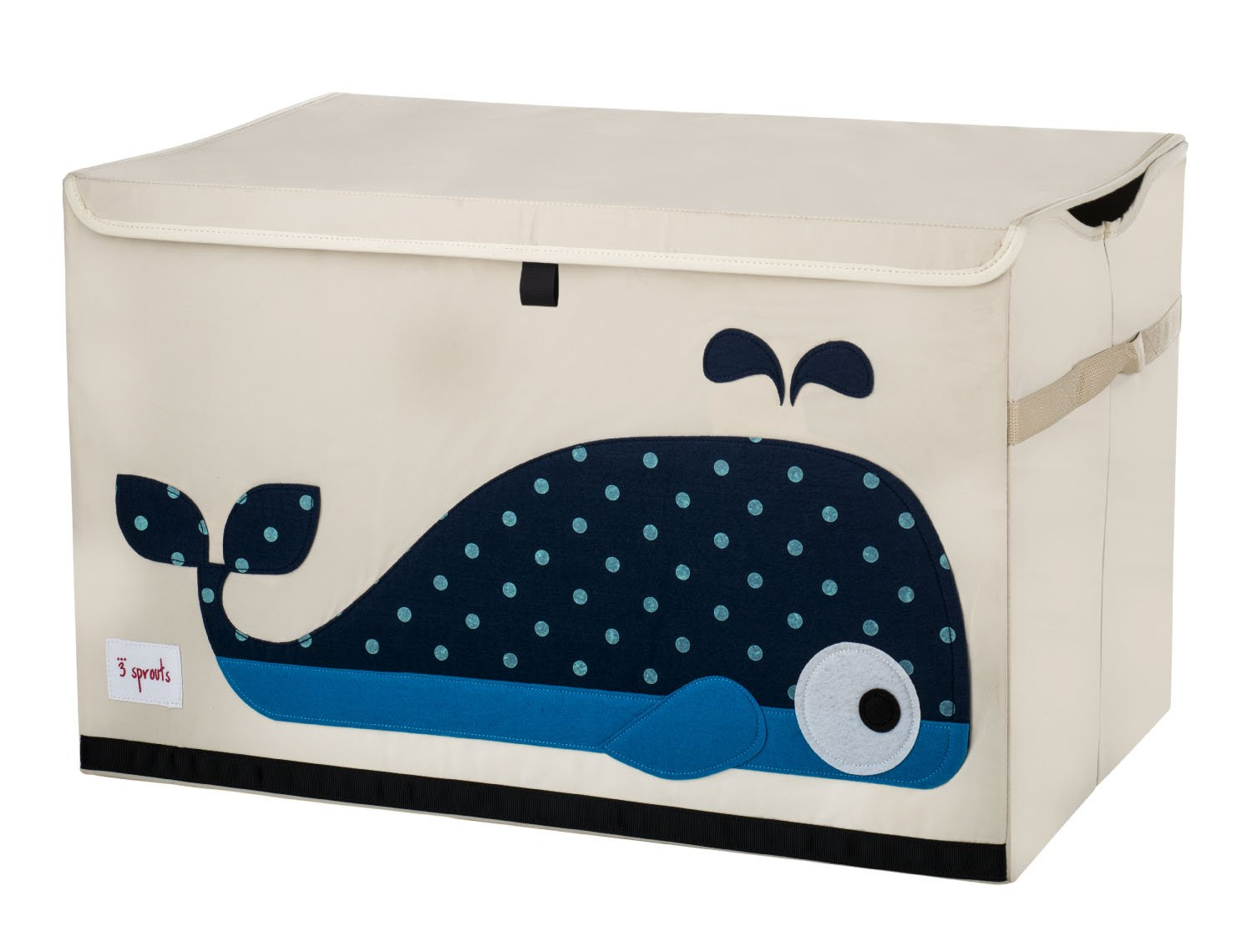 3 Sprouts Toy Chest, Elephant, Gray UTCELE