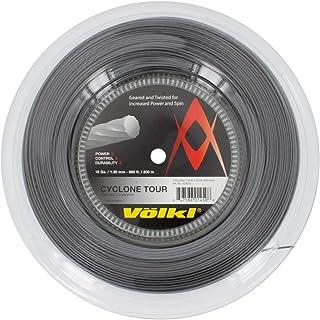 Volkl, Cyclone Tour filo da 1,3 mm per racchetta da tennis, color antracite