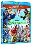 Inside Out (3D + 2D) - Zootropolis (3D + 2D) - Walt Disney 2 Movie Bundling Blu-ray