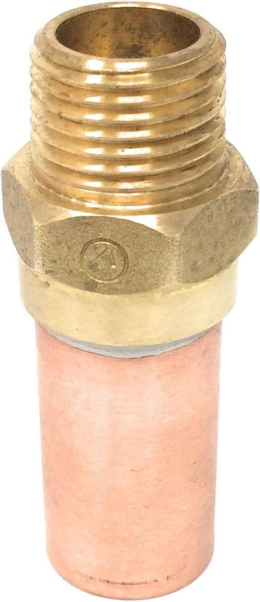 Push /'n/' Connect Tee Water Hammer Arrestor 1//2 inch s