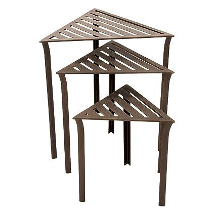 Triangular Nesting Tables Set