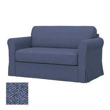 Soferia - IKEA HAGALUND Funda para sofá Cama, Nordic Denim ...