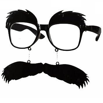 Lunettes fantaisies avec barbe binocles à