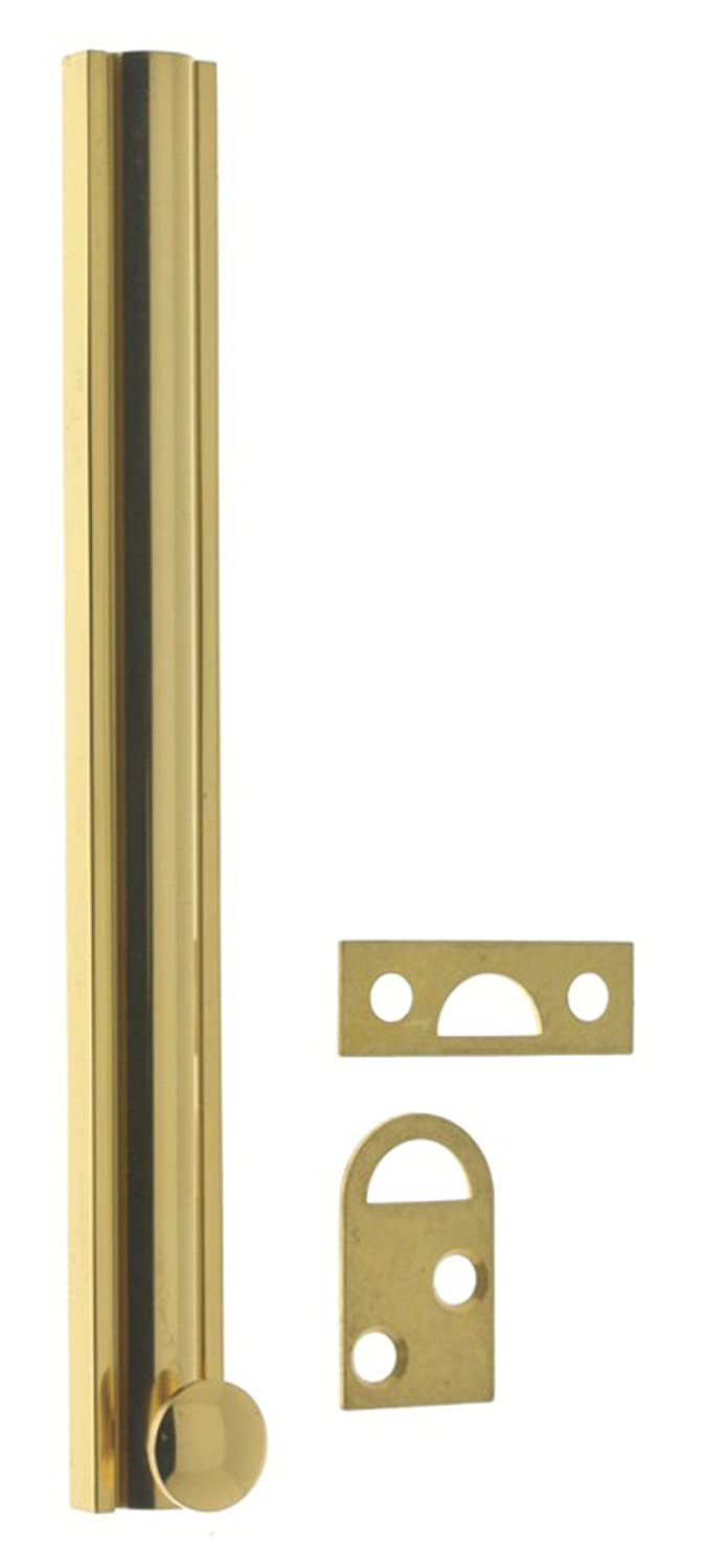 idh by St Antique 4-Inch Simons 11044-005 Professional Grade Quality Solid Brass 4 Surface Bolt