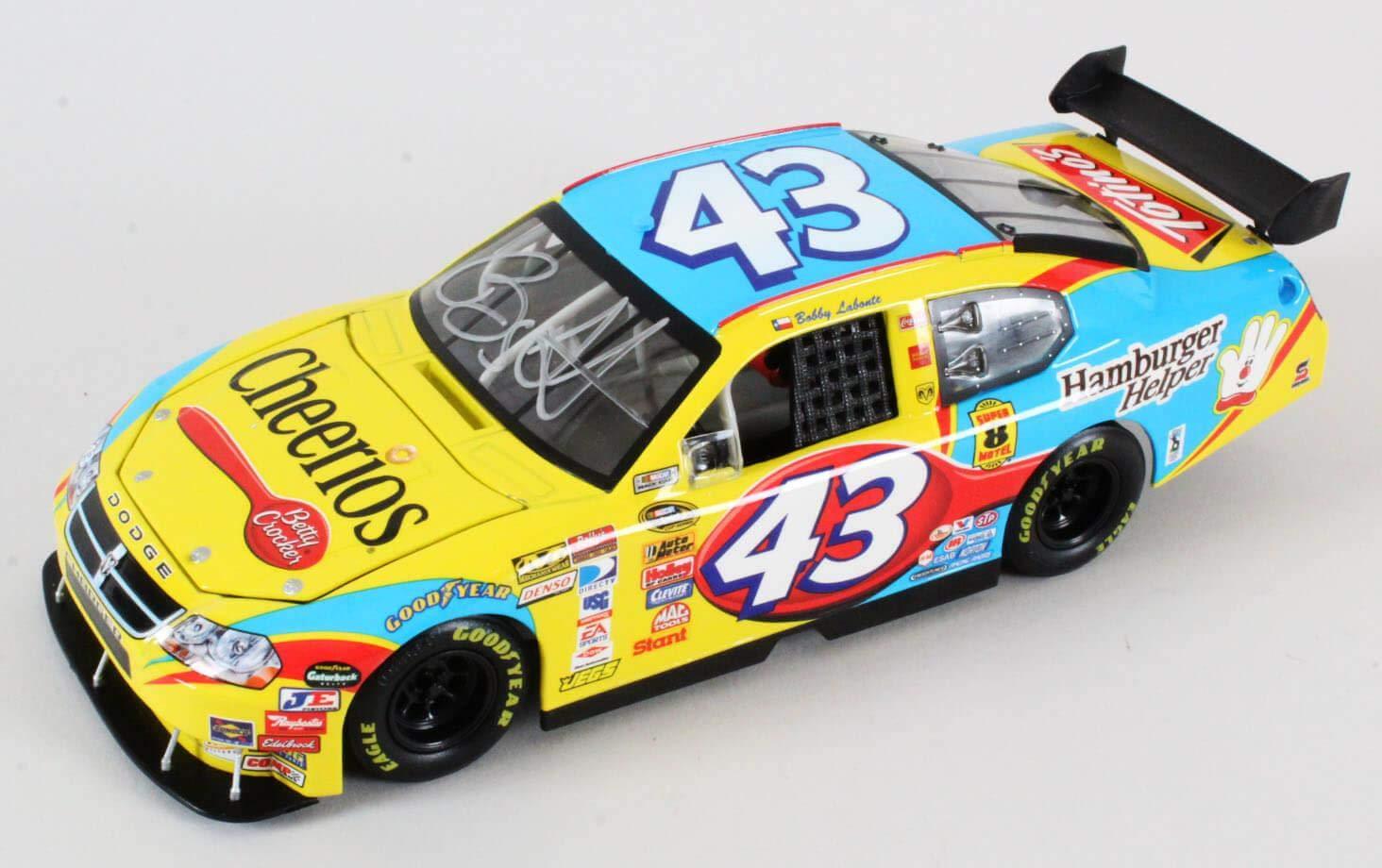 Bobby Labonte Signed Die Cast Car NASCAR COA JSA Certified Autographed Diecast Cars