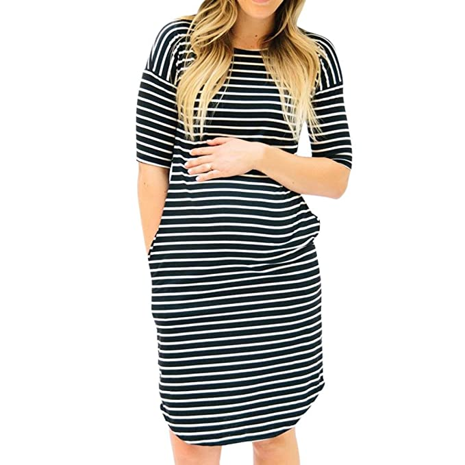 Vestidos ala moda para mujeres embarazadas