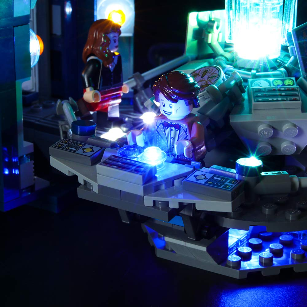 LIGHTAILING Light Set for Led Light kit Compatible with Lego 21304 Ideas Doctor Who Building Blocks Model NOT Included The Model