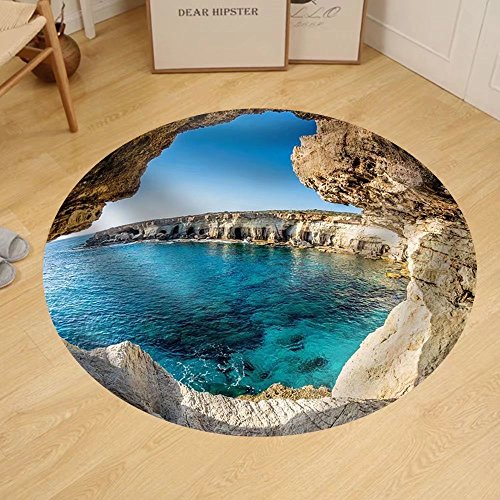 Gzhihine Custom round floor mat Sea Caves near Ayia Napa - Outlets Napa Stores