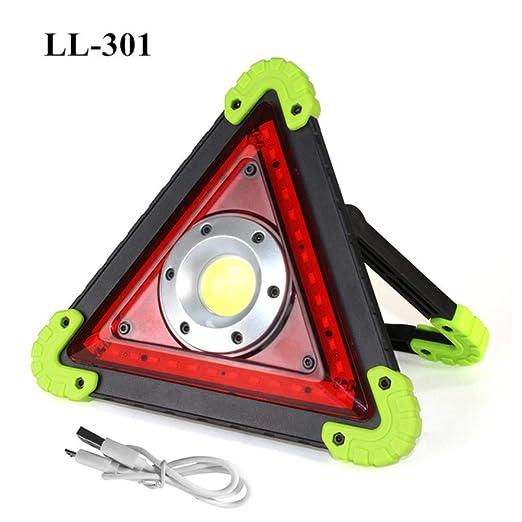 Foco LED Recargable 20w Usb Led Proyector Portátil Luz De Trabajo ...