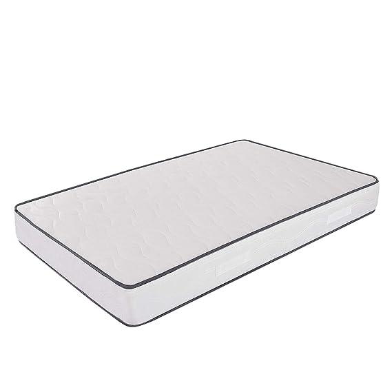 Ailime Waterfoam H18 - Colchón para cama, espuma de poliuretano, 120 x 190 cm, color blanco: Amazon.es: Hogar