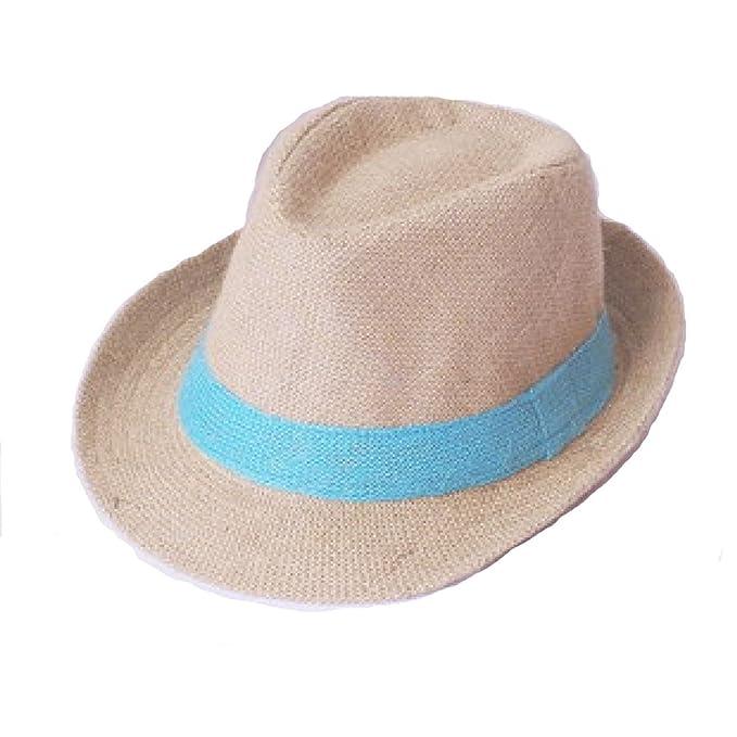 TYGRR Estate La Signora Di Sesso Maschile Il Cappello Di Paglia Di Lino  Cappello Da Cowboy Cappello Di Jazz Cappello Da Sole Berretto Corsa Esterna   ... fc813d9f5ce6