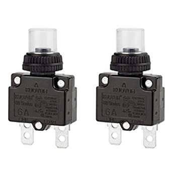 4A DUST CAP SELECT THE RATING. 35A THERMAL CIRCUIT BREAKER RE-SETTABLE FUSE