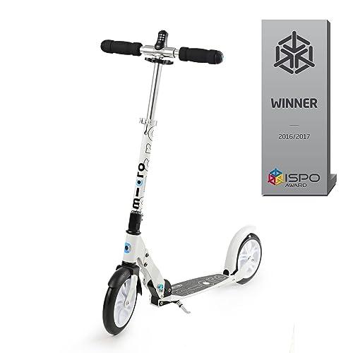 Micro Scooter White Interlock