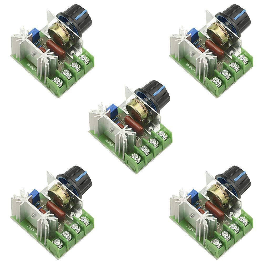 HUIMAI 2000W AC 220V SCR Electronic Voltage Regulator Module Speed Control Controller Worldwide Top Sale