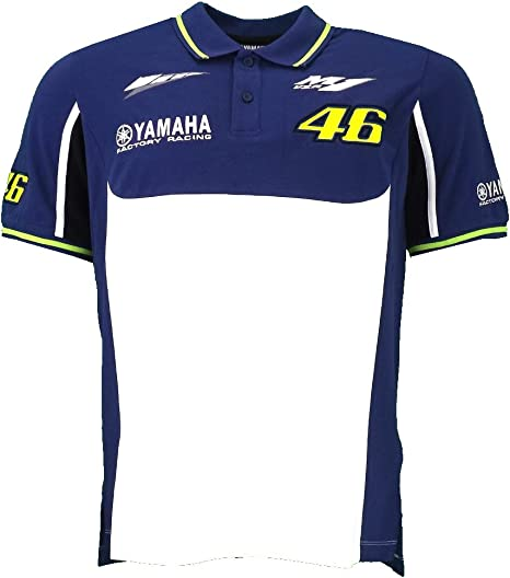 Valentino Rossi VR46 M1 Yamaha Racing Team MotoGP Polo camiseta ...