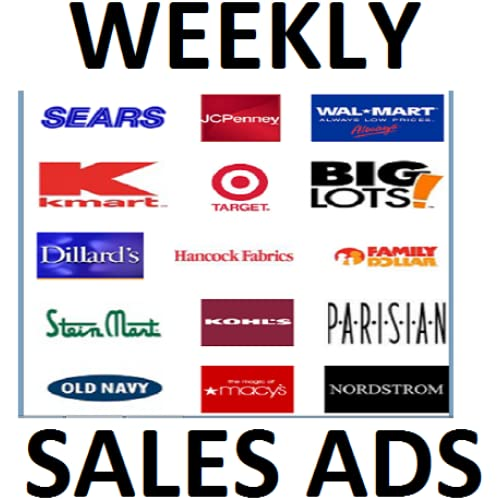 Weekly Sale Ads & Coupons Of All Major Department Stores & Supermarkets (NO ADS)