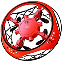 Womdee UFO Flying Toy, Gesture Controlled UFO Flying Ball Hover Drone Automatic Sensing Obstacle Avoidance 360° Rotating Smart Mini UFO Drone For Kids