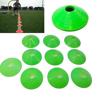 10 x cono conos plástico entrenamiento fútbol Corsa muscular ...