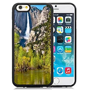 Fashion DIY Custom Designed iPhone 6 4.7 Inch TPU Phone Case For Mountain Waterfall Phone Case Cover