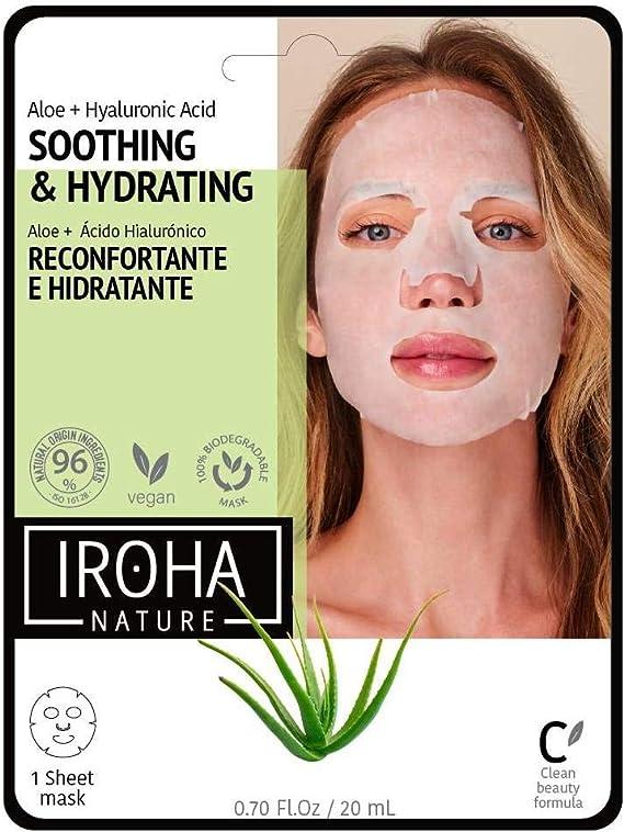Iroha Nature – Mascarilla Facial Tisú Hidratante