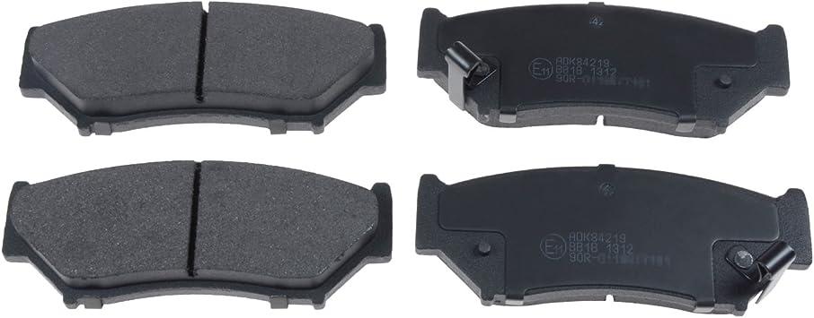 pack of four Blue Print ADS74208 Brake Pad Set