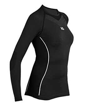 SportHG HG-Pool - Camiseta térmica Doble Soft para Mujer, Color Negro, Talla M: Amazon.es: Deportes y aire libre