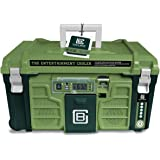 Coolbox: the Entertainment Cooler, Built-in Bluetooth Speakers, Portable and Insulated Ice Chest on Wheels for Travel…