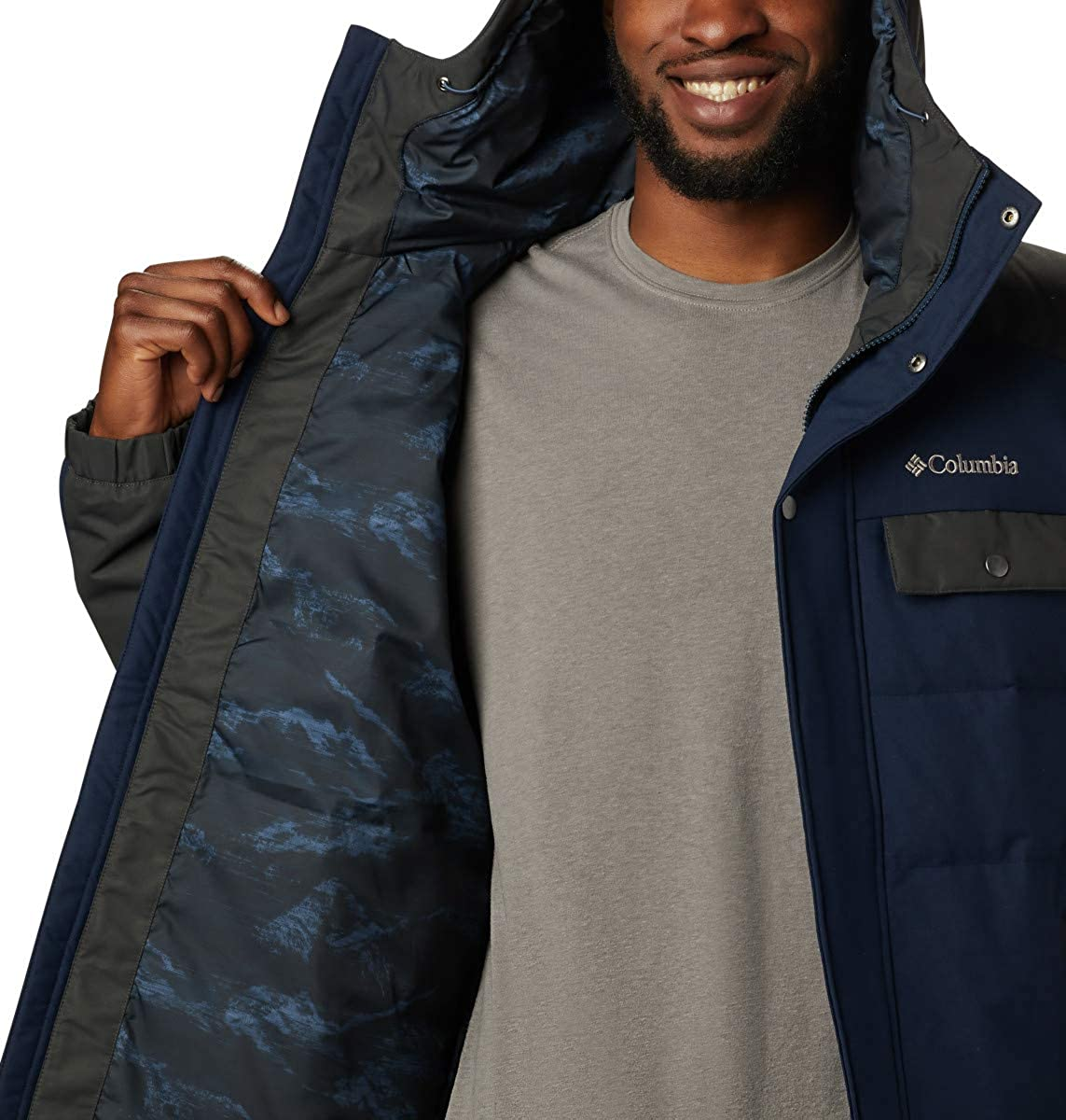 Columbia Mens Winter Challenger Hooded Jacket