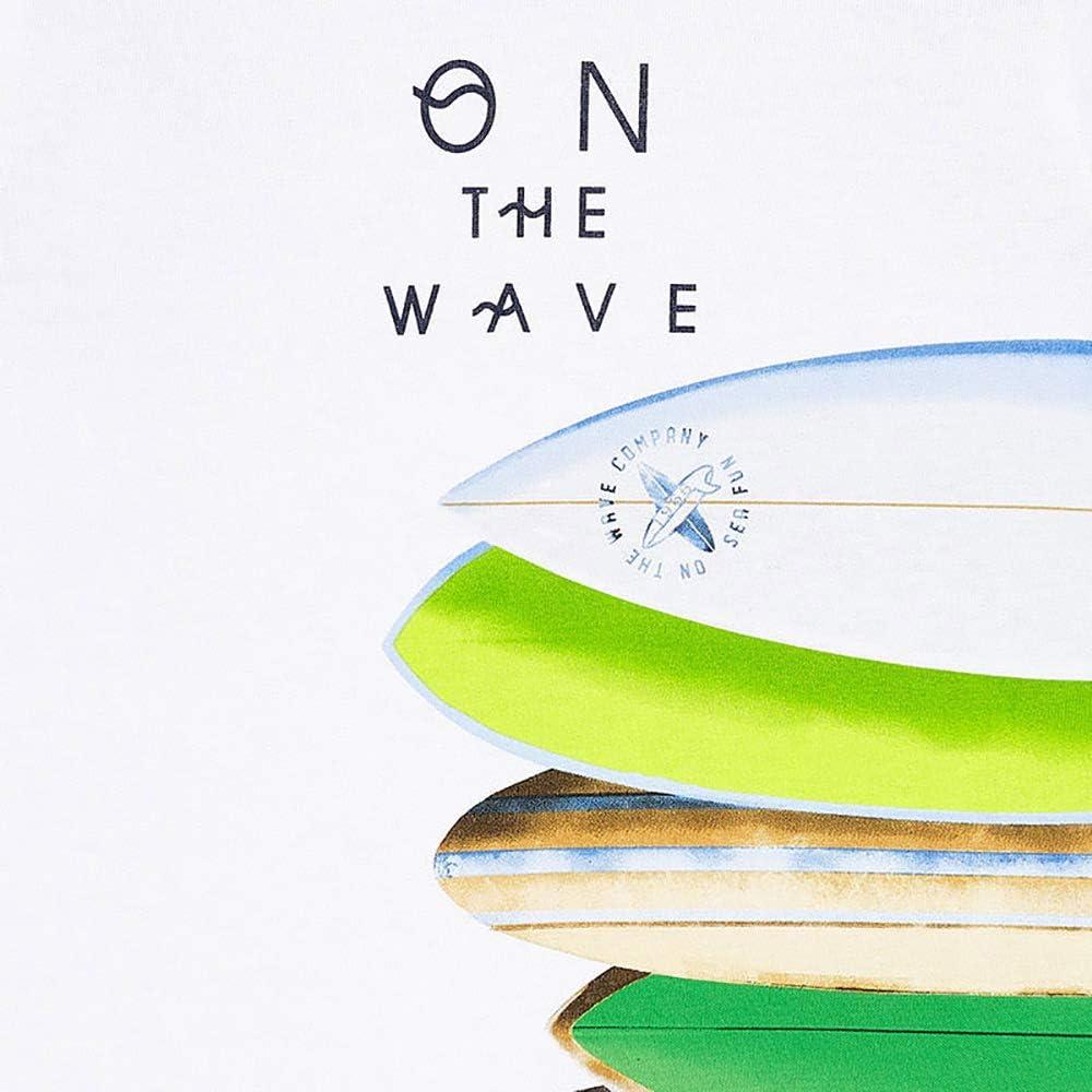 Mayoral Maglietta a maniche corte per bambino con tavole da surf modello 3067