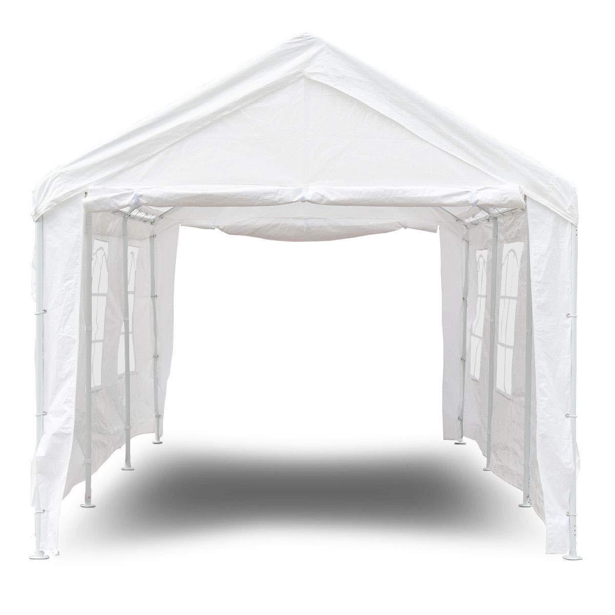 10' x 20' Heavy Duty Party Wedding Car Canopy Tent by AchieveUSA